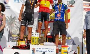 Ismael Ventura Bronze al campionat d'Espanya de bike maratón a Paterna.