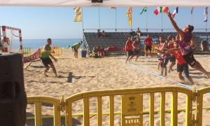 """CMLR al 11è Open d'Handbol Platja """"Trofeu Ciutat de Calella"""" 2015"""